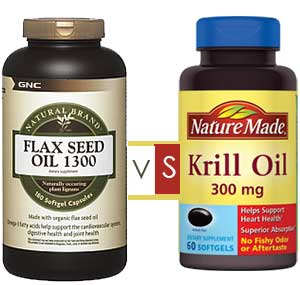 Krill oil versus fish oil or flaxseed oil is krill oil for Flaxseed or fish oil