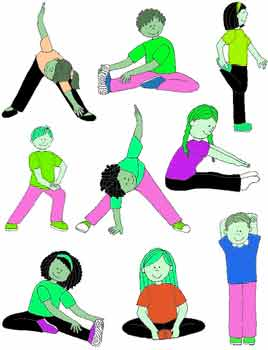 Warm up Exercises for Kids- Stretching, Fun, Before Workout & Cool ...