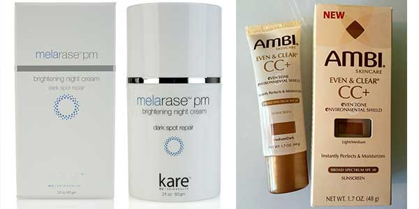 Ingrown hair lighten/fade Creams- Ambi & Melarase