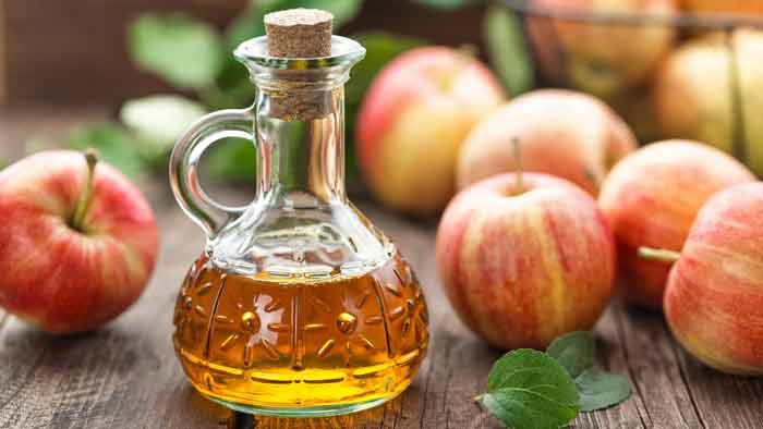 home remedies for ingrown hair-apple cider