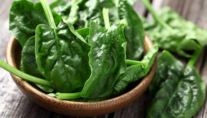 Spinach helps fight Depression