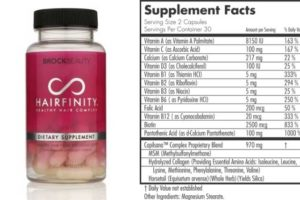 Hairfinity-Ingredients, supplement facts-Does it work?