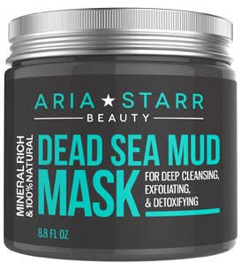 aria starr beauty dead sea mud mask revies
