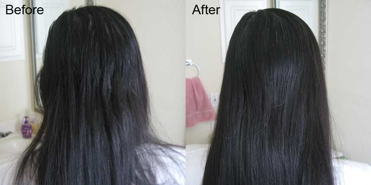coconut oil for hair gowth before and after