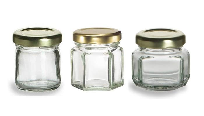 honey storage containers or jars