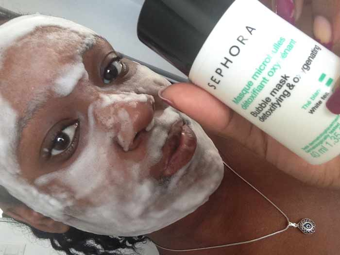 Sephora Collection clay Bubble Mask