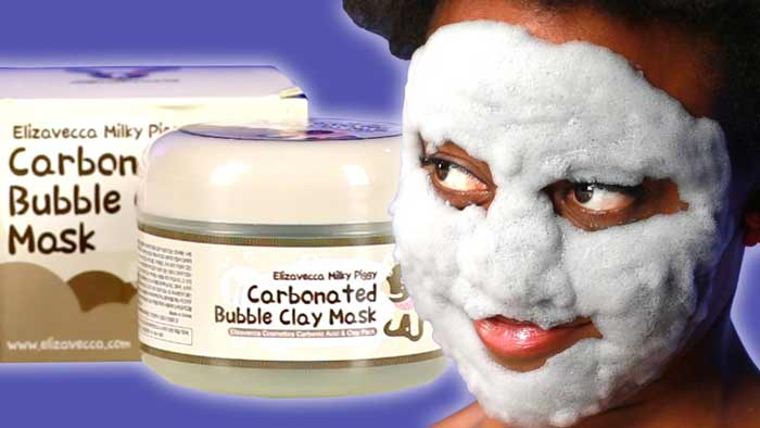 carbonated bubble clay mask benefits reviews side effects