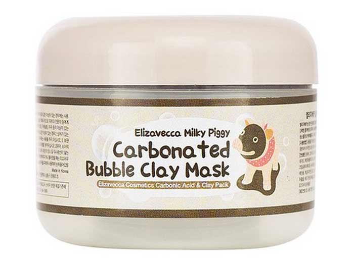 milk piggy carbonated bubble clay mask review