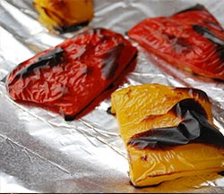 How to cook bell pepper roasting