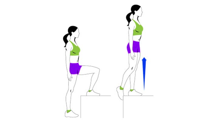 glute-workouts-women-home-step-ups-durablehealth