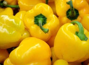 Yellow Bell Pepper Nutrition Recipe When to pick