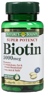 How much biotin for hair growth or loss