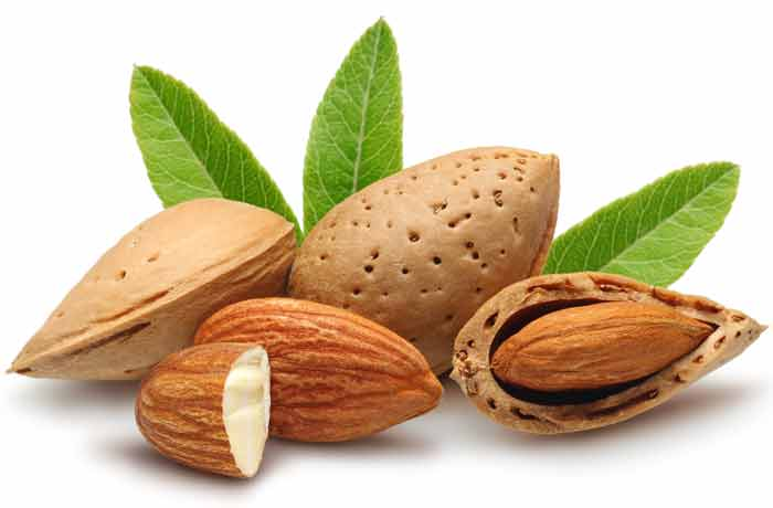 foods high in biotin almonds