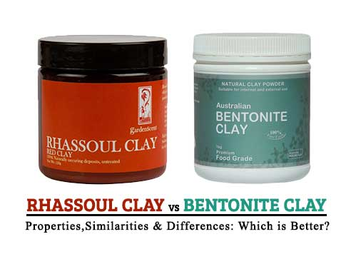 Rhassoul Clay vs Bentonite Clay