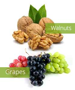 Grapes-Walnuts-best-snacks-for-weight-loss