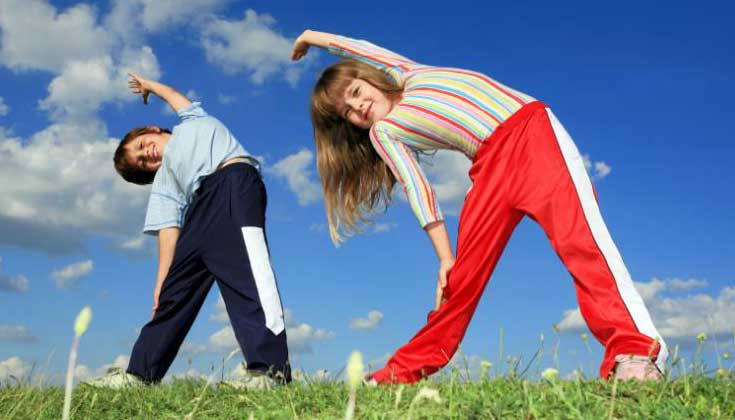 exercise for kids fun good easy facts best routines programs - Exercise Pictures For Kids