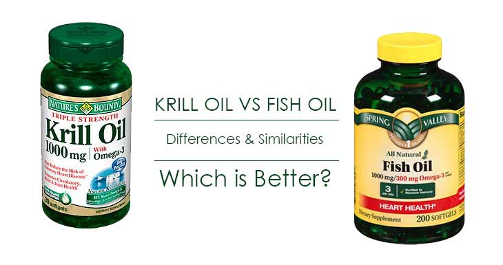 Differences between Krill oil and fish oil-Which one is better