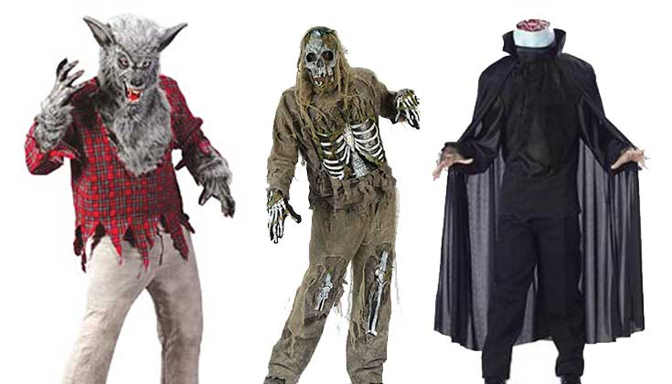 Scary Halloween Costumes for Girls, Boys (Kids)-Boys -Girls Scary ...