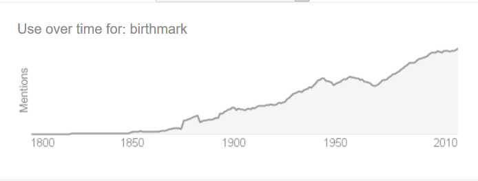 usage of birthmark statistics