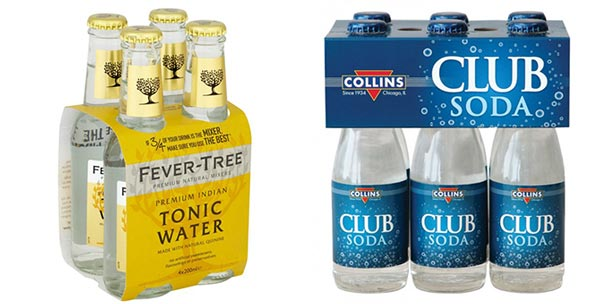 tonic water vs club soda water differences