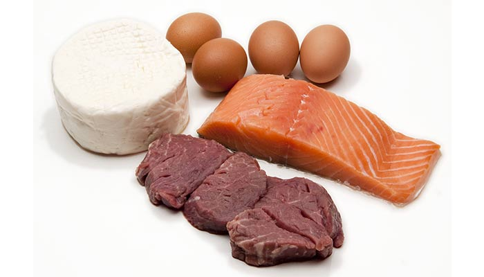 Amino acids and depression-Protein rich food