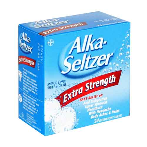 Alka Seltzer Hangover review ingredients