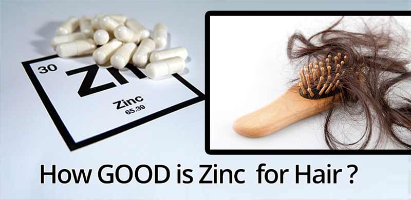 zinc and hair loss dosage
