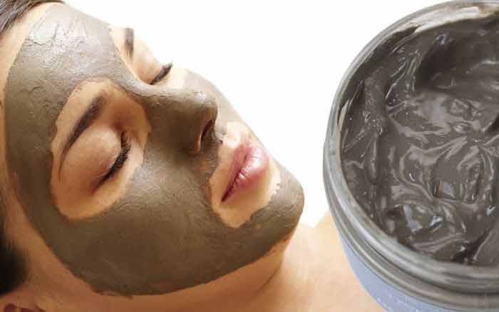Dead sea mud face mask, how to make recipe and apply
