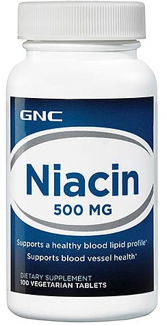 gnc niacin 500mg drug test