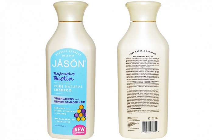 jason restorative biotin shampoo review