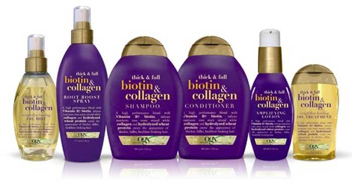 thick full biotin collagen shampoo