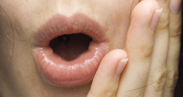 burning mouth syndrome patient