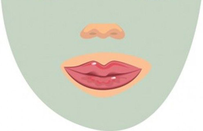 whiteheads on lips line, around, upper, lower, small causes and treatment
