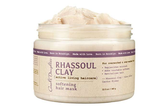 rhassoul clay hair mask benefits, how to use and recipes