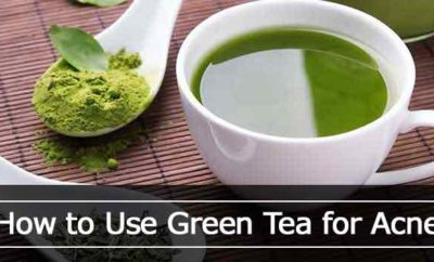 Using green tea for acne mask benefits and recipes
