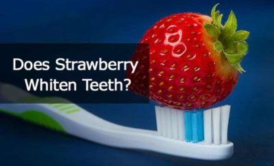 strawberry teeth whitening-does it work?