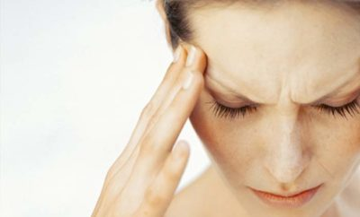 headache above right eyes meaning causes cures