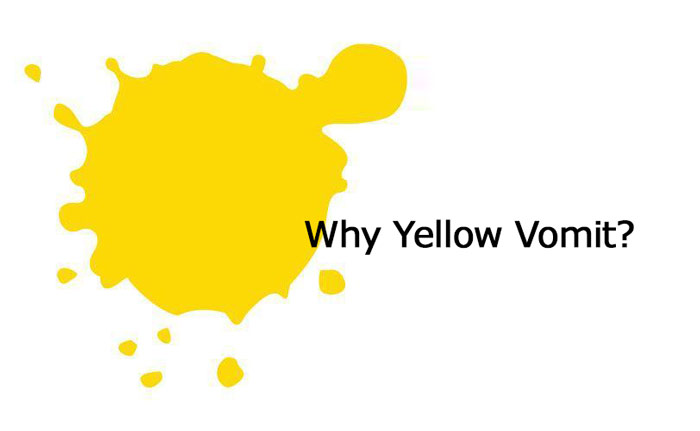 Yellow vomit meaning, causes & cure