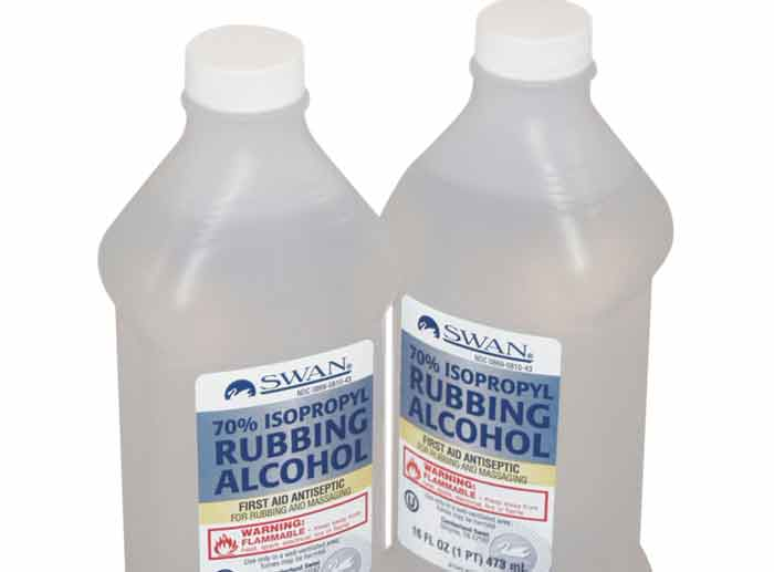 Rubbing alcohol in ear for infection, safety and cleaning